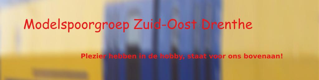 Modelspoorgroep Zuid-Oost Drenthe